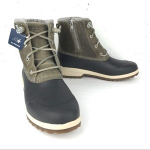 Sperry Maritime Repel Waterproof Boots Grey Size 9